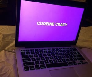 purple, crazy, and grunge image