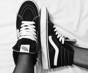 black, style, and vans image