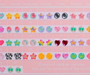 90s, earrings, and stationery image