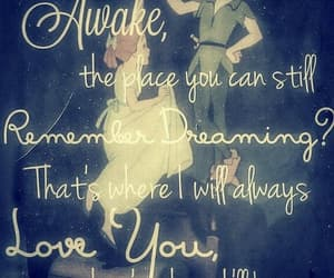 peter pan, disney, and quotes image