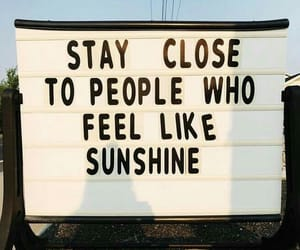 sunshine, quotes, and people image