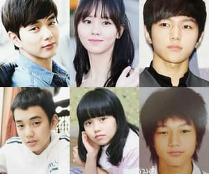 childhood, infinite l, and kim so hyun image