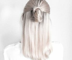 hair, white, and hairstyle image
