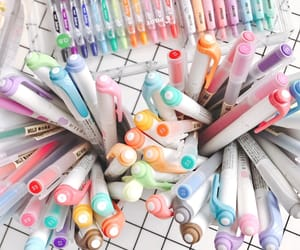 colorful, inpiration, and pens image