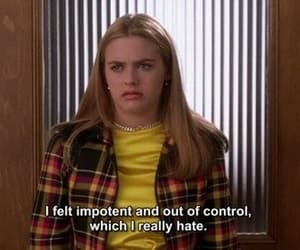 aesthetic, Clueless, and quotes image