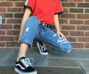 vans, style, and aesthetic image
