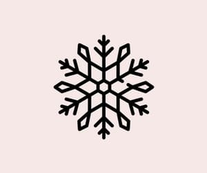 Nude, snowflake, and wallpaper image