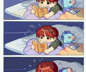 bts, fanart, and cute image