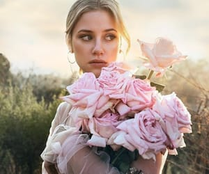 lili reinhart, riverdale, and flowers image