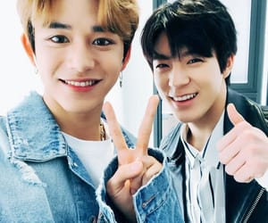lucas, jeno, and nct image