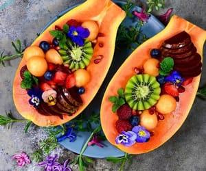 food, fruit, and veggie image