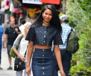 Chanel Iman and fashion image