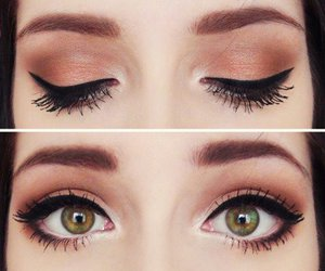 beauty, eye shadow, and eyes image