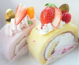 food, pastel, and sweets image