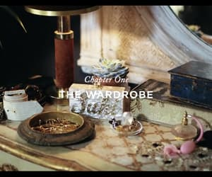 dressing table, perfume, and jewelry image
