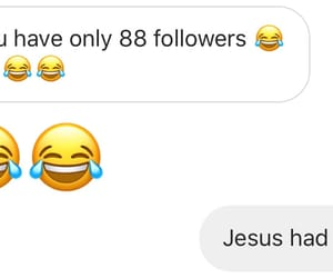 dm, funny, and jesus image