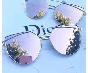 dior and sunglasses image