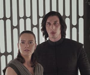 star wars, adam driver, and daisy ridley image