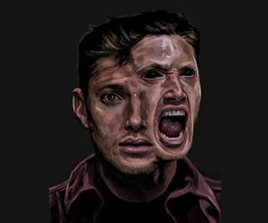 art, background, and dean winchester image