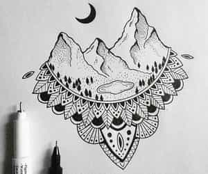 aesthetic, disegno, and loveart image