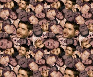 dean winchester, faces, and team free will image