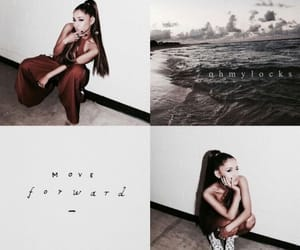 wallpaper and ariana grande image