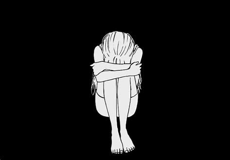 article and anxiety sad image