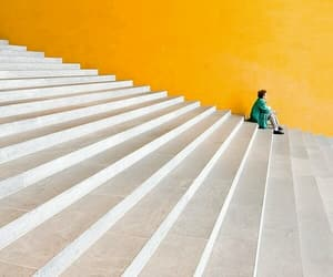yellow, architecture, and photography image