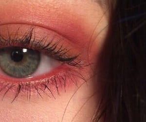 eye, eyes, and makeup image