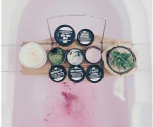 aesthetic, bathtub, and beige image