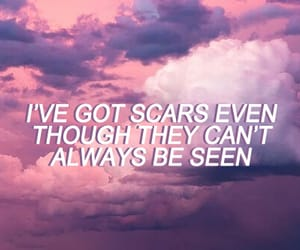Lyrics, aesthetic, and pink image