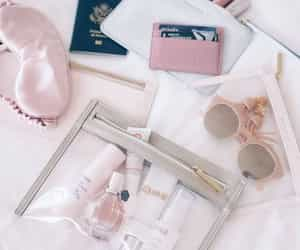pink, travel, and cute image