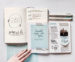 study and bullet journal image