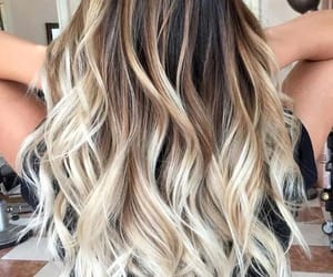 hair, fashion, and ombre image