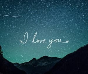love, stars, and wallpaper image