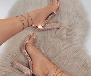 diamonds, heels, and shoes image
