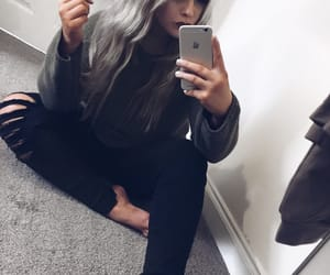 clothes, mirror, and mum image