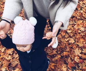 autumn, autumnal, and baby image