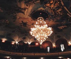 light, art, and chandelier image