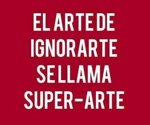 arte, español, and frases image