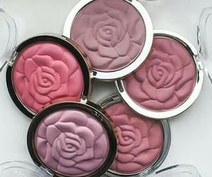 make up, maquillaje, and blush image