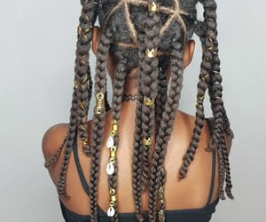 braids, hair accessories, and natural hair image