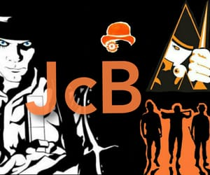 a clockwork orange and banner image