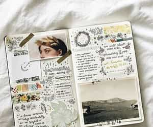 journal, art, and creative image