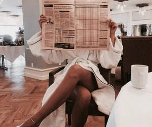 fashion, style, and newspaper image