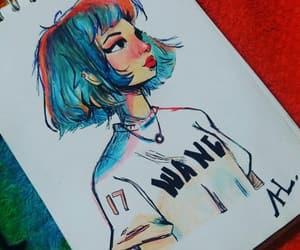 art, color, and dibujo image
