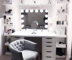 makeup, room, and decoration image