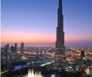 Dubai, city, and travel image