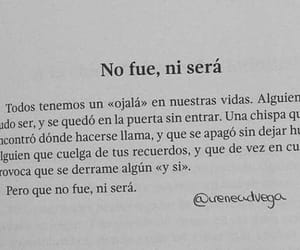 love, frases, and no fue image