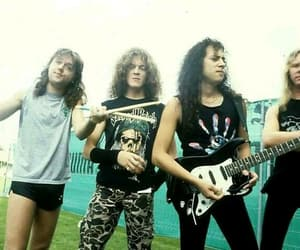 James Hetfield, Jason Newsted, and metal image